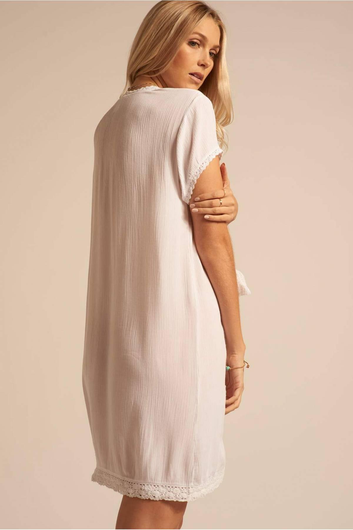 2927f66f464 Купить Пляжное платье K1906 WHITE в Киеве