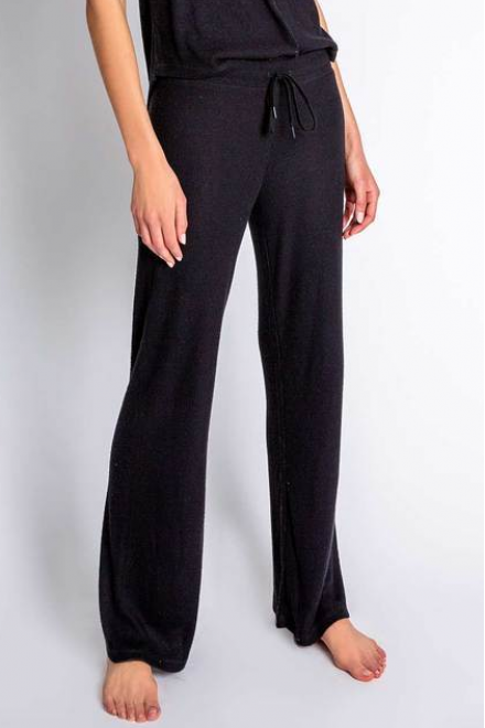 TEXTURED BASICS SOLID PANT