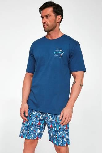326-21 Чоловіча піжама 104 Blue dock 2