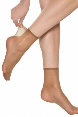 Женские носки с невидимой резинкой (2шт)