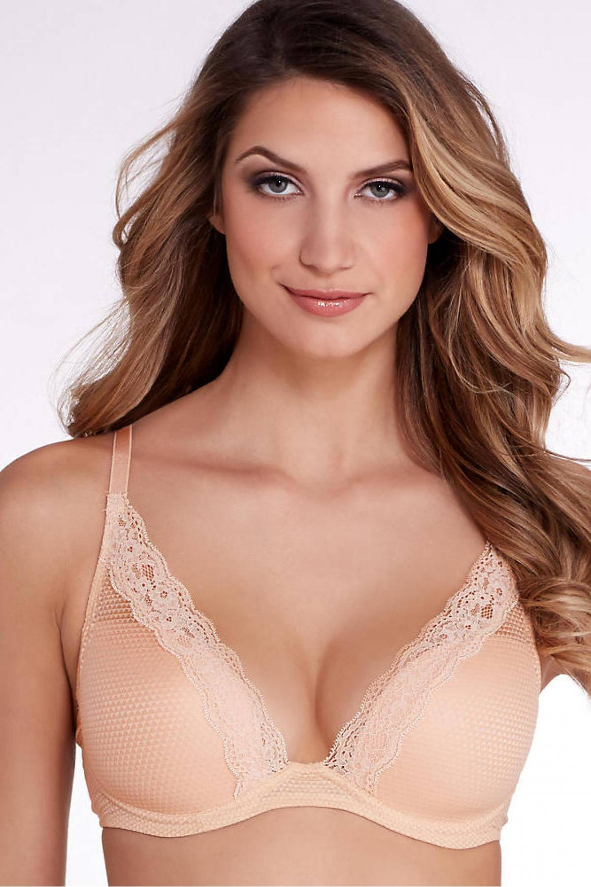 College girl sexy nude color bras