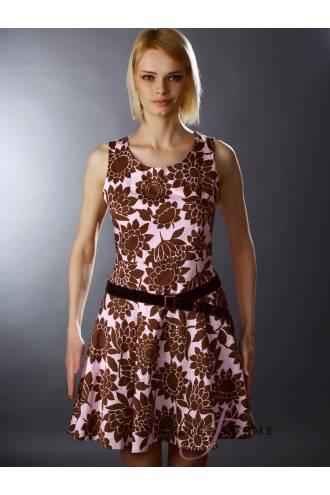 Платье с поясом Valery